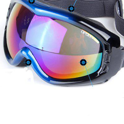 Fashion Multicolor Lenses Snowboard Goggles with Anti-slip StrapSki Goggles<br>Fashion Multicolor Lenses Snowboard Goggles with Anti-slip Strap<br><br>Features: Anti-UV<br>Frame Materials: TPU<br>Gender: Unisex<br>Lens height: 6.7cm<br>Lens width: 15cm<br>Model Number: HB901<br>Package Contents: 1 x Glasses<br>Package Dimension: 18.00 x 3.00 x 9.00 cm / 7.09 x 1.18 x 3.54 inches<br>Package weight: 0.1100 kg<br>Product Dimension: 17.00 x 2.50 x 8.50 cm / 6.69 x 0.98 x 3.35 inches<br>Product weight: 0.1000 kg<br>Whole Length: 17cm