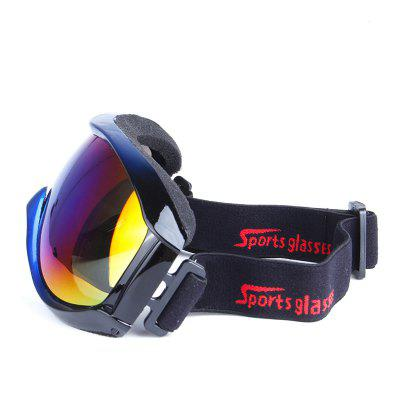 Multicolor Snowboard Goggles with Anti-slip Strap Windproof Anti-fog GlassesSki Goggles<br>Multicolor Snowboard Goggles with Anti-slip Strap Windproof Anti-fog Glasses<br><br>Features: Anti-UV<br>Frame Color: Black<br>Frame Materials: TPU<br>Gender: Unisex<br>Lens height: 7cm<br>Lens material: PC<br>Lens width: 15cm<br>Model Number: HB903<br>Package Contents: 1 x Snowboard Goggles<br>Package Dimension: 18.00 x 2.20 x 8.50 cm / 7.09 x 0.87 x 3.35 inches<br>Package weight: 0.0950 kg<br>Product Dimension: 17.00 x 2.10 x 8.00 cm / 6.69 x 0.83 x 3.15 inches<br>Product weight: 0.0900 kg<br>Whole Length: 17cm