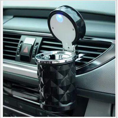1PC Diamond LED Car Ashtray High Quality Universal Ashtray Cigarette for Gift Cigarette Cigar
