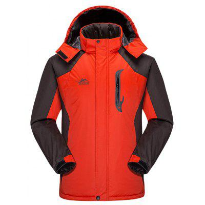 Men's Outdoor Professional Waterproof and Warm Fashion Mountaineering Suit