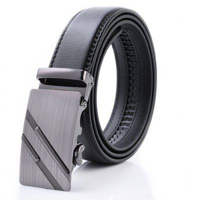 Fashion Men Business Casual Leather Belt