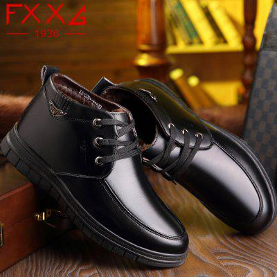 Leather Plush Warm Leisure ShoesMens Boots<br>Leather Plush Warm Leisure Shoes<br><br>Available Size: 38?39?40?41?42?43?44<br>Closure Type: Lace-Up<br>Embellishment: None<br>Gender: For Men<br>Occasion: Casual<br>Outsole Material: Rubber<br>Package Contents: 1xshoes(pair)<br>Pattern Type: Solid<br>Season: Winter<br>Toe Shape: Round Toe<br>Toe Style: Closed Toe<br>Upper Material: Microfiber<br>Weight: 1.5600kg