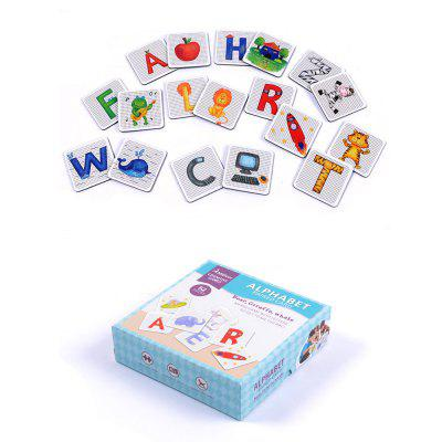 Alphabet Learning Matching Card Juguete educativo