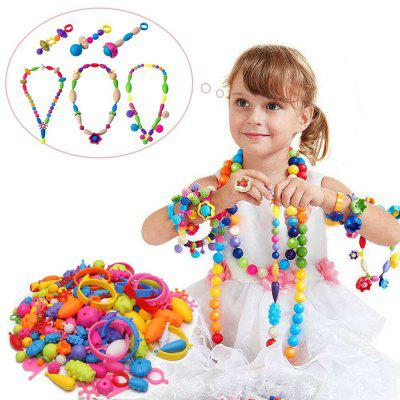 Nukied Pop Arty Beads Kid Toy 180 piezas