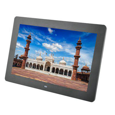 LD102 New 10.2 inch HD 1024 x 600 Screen Digital Photo Frame Electronic Album Picture/Music/Video Full FunctionDigital Photo Frame<br>LD102 New 10.2 inch HD 1024 x 600 Screen Digital Photo Frame Electronic Album Picture/Music/Video Full Function<br><br>Aspect Ratio: 16:9<br>Auto play: Music,Photo,Video,OFF,Photo and Music,Mix play<br>Auto power-off: OFF<br>Auto power-on: OFF<br>Function: Remote Control, Movie, Video Playback, Alarm Clock, Music, Calendar, MP3, Picture with Music<br>Internal memory: 16MB<br>Memory medium: MMC,U-disk,SD<br>Model: LD101<br>Music support: WMA, MP3<br>Optional Language: English,French,Spanish,Portuguese,Russian,German,Italian,Turkish,Simplified Chinese,Traditional Chinese,Polski,Deutsch,Nederlands<br>Package Contents: 1 x Digital Photo Frame, 1 x Remote Control, 1 x Button Battery, 1 x Power Adapter, 1 x User Manual ( English )<br>Package size (L x W x H): 32.50 x 20.50 x 6.00 cm / 12.8 x 8.07 x 2.36 inches<br>Package weight: 0.7000 kg<br>Photo support: BMP, JPG, JPEG<br>Ports: Mini USB, USB, 3.5mm Audio Out, DC Charging<br>Product size (L x W x H): 27.50 x 18.60 x 2.40 cm / 10.83 x 7.32 x 0.94 inches<br>Product weight: 0.4500 kg<br>Screen resolution: 1024 x 600<br>Screen size: 10.0 inch<br>Screen type: TFT<br>Video support: AVI, VOB, DAT, MPEG4