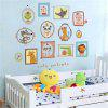 Creative Cartoon Lovely Animal Bedroom Decorative Wall Stickers - COLORMIX