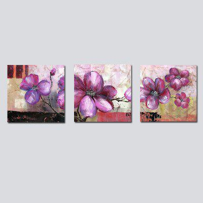 QiaoJiaHuaYuan No Frame Canvas Living Room Sofa Background Modern Simple Abstract Abstract Three Series of Painting Flow
