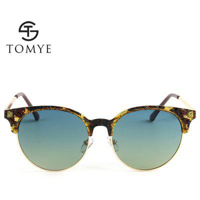 TOMYE 55926 New Fashion Polarized Sunglasses for Men and WomenTOMYE 55926 New Fashion Polarized Sunglasses for Men and Women<br><br>Brand: TOMYE<br>Frame Length: 146mm<br>Frame material: Acetate<br>Gender: Unisex<br>Group: Adult<br>Lens height: 50mm<br>Lens material: Resin<br>Lens width: 55mm<br>Lenses Optical Attribute: Polarized<br>Nose: 20mm<br>Package Contents: 1 x Pair of Sunglasses<br>Package size (L x W x H): 17.00 x 9.00 x 7.00 cm / 6.69 x 3.54 x 2.76 inches<br>Package weight: 0.0500 kg<br>Product weight: 0.0260 kg<br>Style: Round<br>Temple Length: 148mm