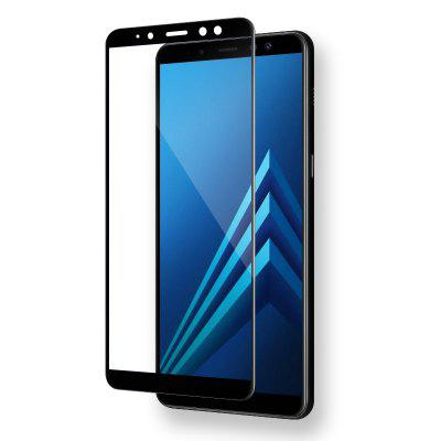 Mr.northjoe Tempered Glass for Samsung Galaxy A8 Plus (2018)