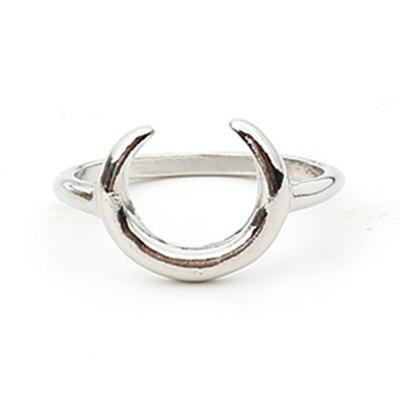 Arc Horn Alloy Ring Jewelry Accessories