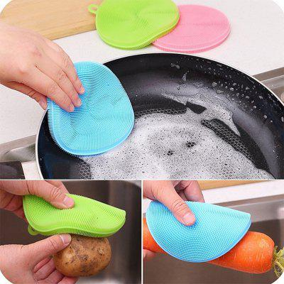 Creative Multifunction Magic Silicone Dish Universal Bowl Cleaning Up Brush Scouring Pad the theory of industrial organization