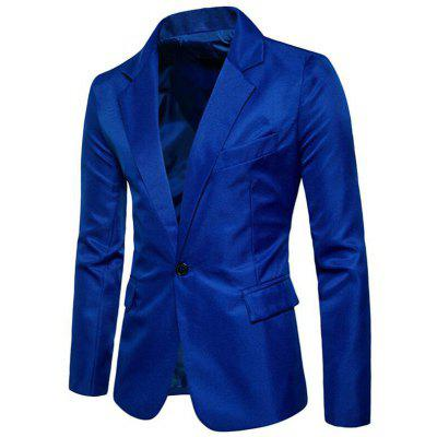 Men Spring Turndown Collar Long Sleeve SuitMens Blazers<br>Men Spring Turndown Collar Long Sleeve Suit<br><br>Closure Type: Single Button<br>Clothing Length: Regular<br>Embellishment: Pockets<br>Fit Type: Regular<br>Front Style: Flat<br>Hooded: No<br>Material: Cotton Blends<br>Package Contents: 1 x Suit<br>Package size (L x W x H): 1.00 x 1.00 x 1.00 cm / 0.39 x 0.39 x 0.39 inches<br>Package weight: 0.3500 kg<br>Pattern Type: Solid<br>Sleeve Length: Full<br>Type: Suits