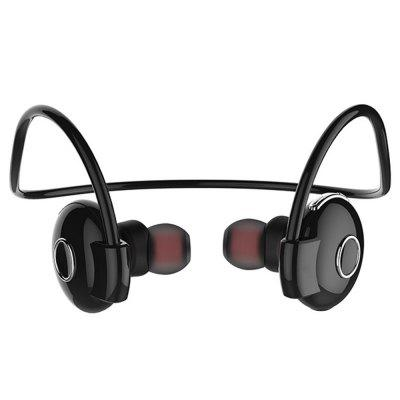 Wireless Mini Bass Bluetooth Headset Sport Stereo Rear Hanging Headphones