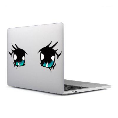 Computer Shell Laptop Case Película de teclado para MacBook Air 11.6 pulgadas 3DCartoon Eyes 30