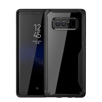 Custodia Cover per Samsung Galaxy Note 8 Slim Transparent PC + TPU Silicone