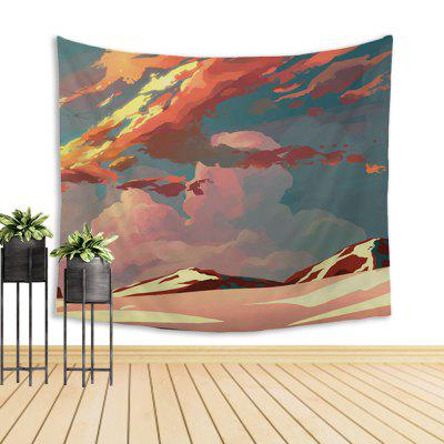 Cool Cartoon Wall Decoration Tapestry With CloudsTapestries<br>Cool Cartoon Wall Decoration Tapestry With Clouds<br><br>Color: Multi-color<br>Package Contents: 1 x tapestry<br>Package size (L x W x H): 10.00 x 10.00 x 40.00 cm / 3.94 x 3.94 x 15.75 inches<br>Package weight: 0.3000 kg<br>Product weight: 0.1800 kg<br>Subjects: Landscape