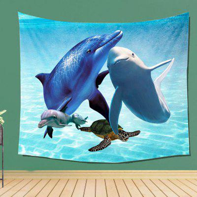 Sea Animal Wall Decoration Tapestry Carpet Beach BlanketTapestries<br>Sea Animal Wall Decoration Tapestry Carpet Beach Blanket<br><br>Color: Multi-color<br>For: Lovers, Sisters, Brothers, Parents, Teachers, Friends, Student<br>Package Contents: 1 x tapestry<br>Package size (L x W x H): 10.00 x 10.00 x 40.00 cm / 3.94 x 3.94 x 15.75 inches<br>Package weight: 0.3000 kg<br>Product weight: 0.1800 kg<br>Subjects: Animal,Landscape