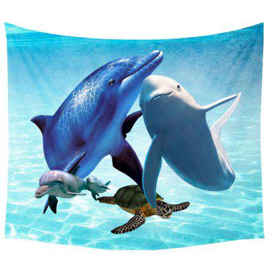 Sea Animal Wall Decoration Tapestry Carpet Beach Blanket
