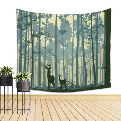 Wall Elk Tapestry Sofa Beach BlanketHome Gadgets<br>Wall Elk Tapestry Sofa Beach Blanket<br><br>Available Color: Colormix<br>Materials: Cotton, Polyester<br>Package Contents: 1 x tapestry<br>Package Size(L x W x H): 10.00 x 10.00 x 40.00 cm / 3.94 x 3.94 x 15.75 inches<br>Package weight: 0.3000 kg<br>Product weight: 0.1800 kg
