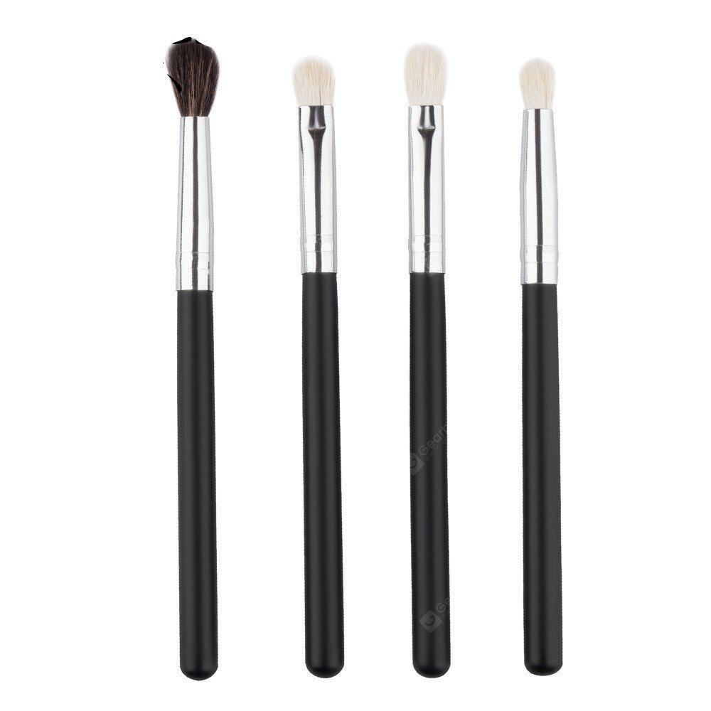 KESMALL CO226 Eye Makeup Brushes Kit 4pcs / set