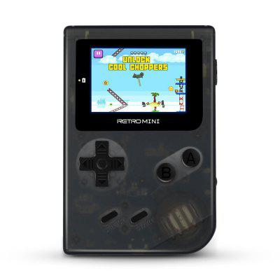 Retro Mini 2 Inch Handheld Game Console Classic Pocket Rotro with 1058 built-in Games