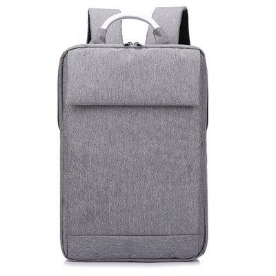 1Pc Casual Business backpack Oxford Cloth Computer Bag- GRAY