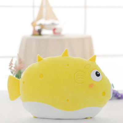 Fish Style Soft Cotton Sofa Cushion Office Nap Pillow