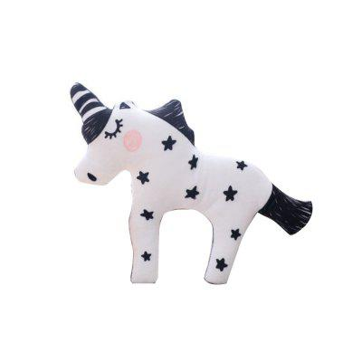 Cartoon Unicorn Plush Toy Fox Baby Cotton Sofa Cushion