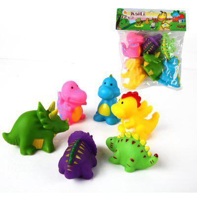 Cartoon Animal Models Vinyl Toy 6PCSMovies &amp; TV Action Figures<br>Cartoon Animal Models Vinyl Toy 6PCS<br><br>Completeness: Finished Goods<br>Gender: Boys,Girls,Kids<br>Materials: ABS<br>Package Contents: 6 x Toy<br>Package size: 21.00 x 6.00 x 25.00 cm / 8.27 x 2.36 x 9.84 inches<br>Package weight: 0.2000 kg<br>Product weight: 0.1900 kg<br>Stem From: Other<br>Theme: Animals