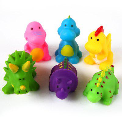 Cartoon Animal Models Vinyl Toy 6PCS