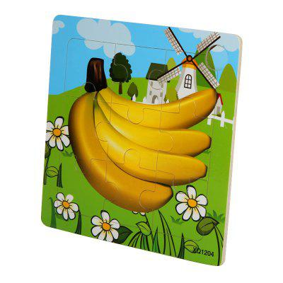 Children Jigsaw Puzzle Toy BananaLogic &amp; Puzzle Toys<br>Children Jigsaw Puzzle Toy Banana<br><br>Gender: Boys,Girls<br>Materials: Wood<br>Package Contents: 1 x Jigsaw Puzzle<br>Package size: 15.00 x 0.50 x 15.00 cm / 5.91 x 0.2 x 5.91 inches<br>Package weight: 0.0700 kg<br>Product weight: 0.0600 kg<br>Stem From: Other<br>Style: Animal<br>Theme: Other<br>Type: Jigsaw Puzzle