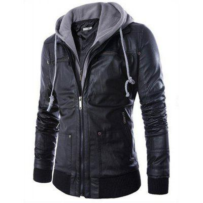 All-Match Slim Hooded Jacket