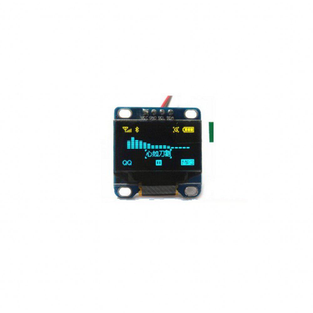 0.96 Inch Yellow Blue I2c IIC Serial Oled LCD LED Module 12864 128X64 for Arduino