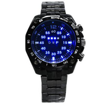 TVG Stainless Steel Led Digital Watch Men Fashion Men Sports Watches