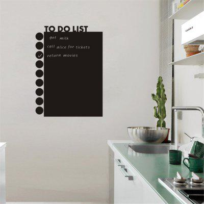 Blackboard Stickers To Do List for Office Decoration Waterproof Removable