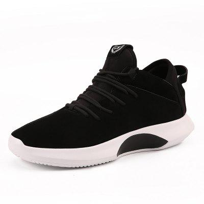 New Spring and Autumn Men Fashion High-Top Light Board ShoesMen's Sneakers<br>New Spring and Autumn Men Fashion High-Top Light Board Shoes<br><br>Available Size: 39-44<br>Closure Type: Lace-Up<br>Embellishment: None<br>Gender: For Men<br>Outsole Material: Rubber<br>Package Contents: 1xshoes(pair)<br>Pattern Type: Solid<br>Season: Spring/Fall<br>Toe Shape: Pointed Toe<br>Toe Style: Closed Toe<br>Upper Material: PU<br>Weight: 1.5840kg