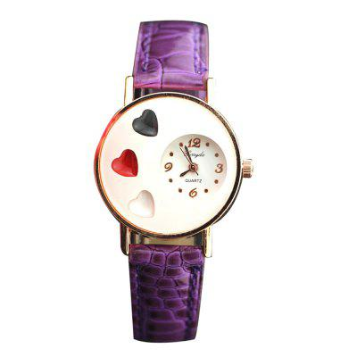 Fashion Loves Quartz Belt Ladies Watch