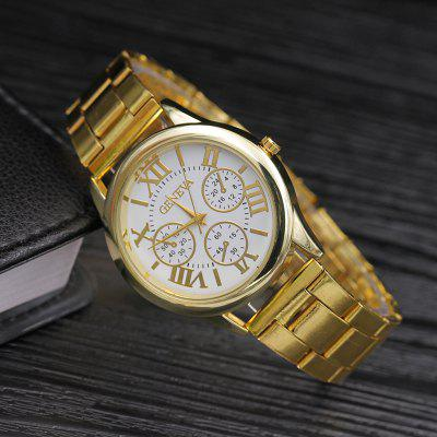 Modish Stainless Steel Band Female WatchWomens Watches<br>Modish Stainless Steel Band Female Watch<br><br>Band material: Stainless Steel<br>Case material: Stainless Steel<br>Display type: Analog<br>Movement type: Quartz watch<br>Package Contents: 1 x Watch<br>Package size (L x W x H): 30.00 x 10.00 x 5.00 cm / 11.81 x 3.94 x 1.97 inches<br>Package weight: 0.0800 kg<br>Product size (L x W x H): 25.00 x 4.20 x 1.00 cm / 9.84 x 1.65 x 0.39 inches<br>Product weight: 0.0600 kg<br>Shape of the dial: Round<br>Watch style: Fashion, Classic, Business, Childlike, Casual<br>Watches categories: Women,Female table<br>Water resistance: 50 meters