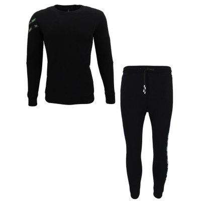 Fashionable Young Men's Sports Suit