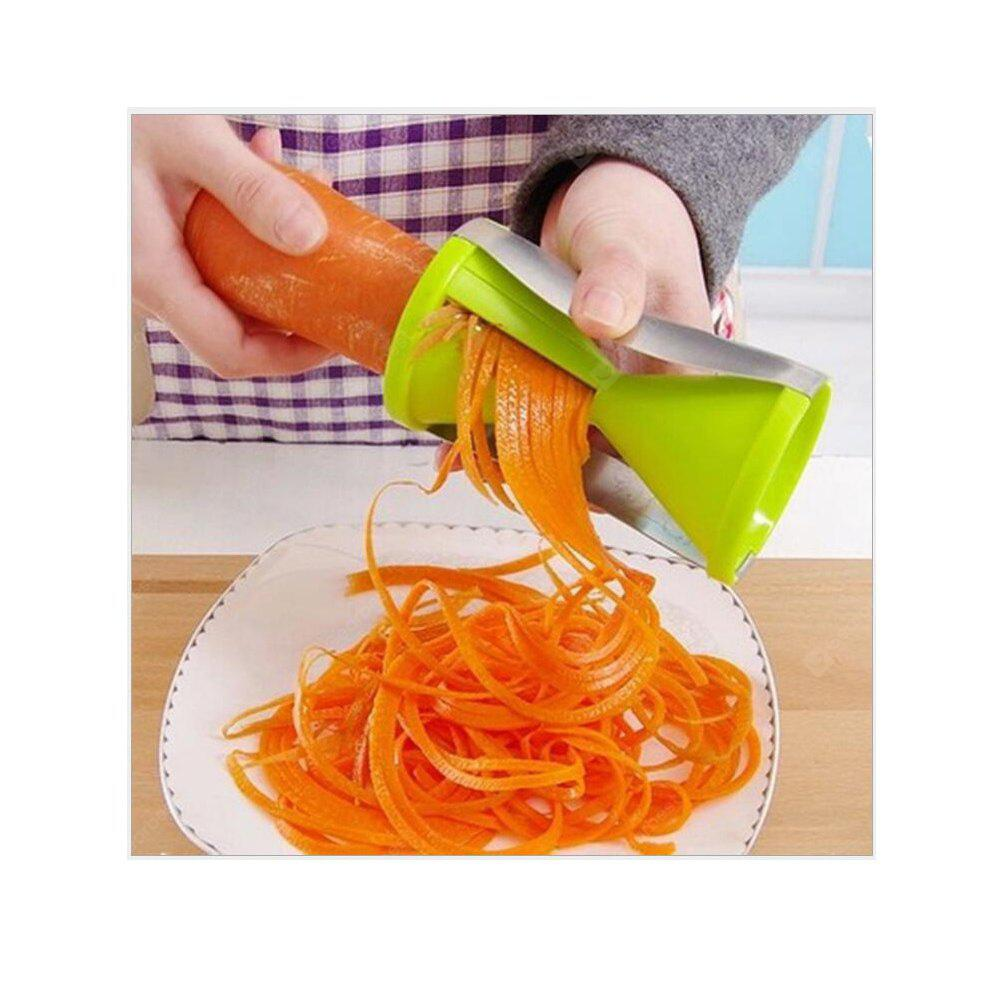 Kitchen Multi-Funnel Cutter Rotating Vegetable Chopper