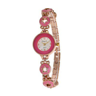 Chaoyada 8017 Sweet Style Brief Exquisite Watch for Women