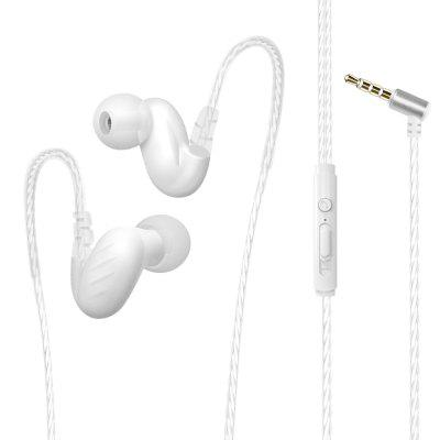 Earphone For iPhone Samsung Xiaomi Huawei 3.5MM Stereo Headphone Headsets Bass Earbuds