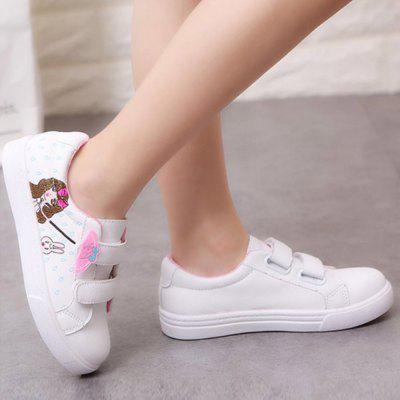 New Style Cartoon Pattern Design Casual Shoes for GirlsGirls shose<br>New Style Cartoon Pattern Design Casual Shoes for Girls<br><br>Available Size: 26 27 28 29 30 31 32 33 34 35 36 37<br>Embellishment: Pattern<br>Gender: Baby Girls<br>Item Type: Children Casual Shoes<br>Package Contents: 1 x Pair of Shoes<br>Package weight: 0.5000 kg<br>Seasons: Summer,Winter,Spring/Fall<br>Upper Material: PU