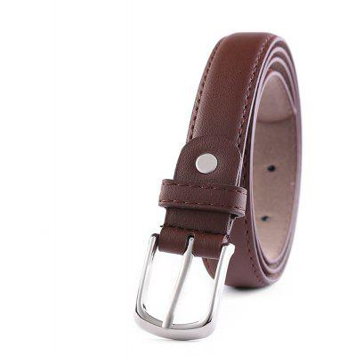 Ladies Business Pin Buckle Leather Belt