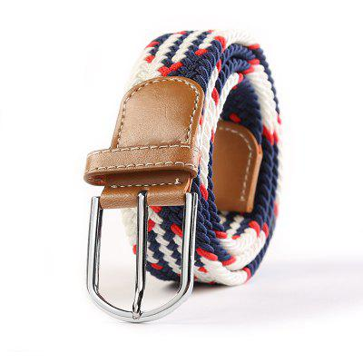 Fashion Casual Ladies Knit Buckle Belt