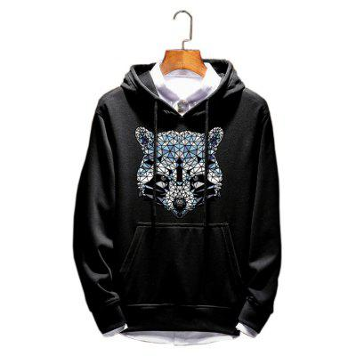 Men Spring Youth Section Hoodie