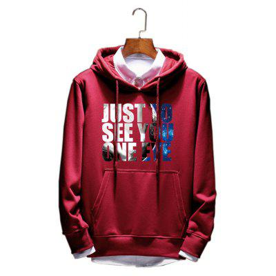 Men's Cotton Fashion Lovers Hoodie