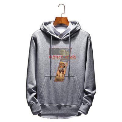 Men's Fashion Cotton Lovers Hoodie