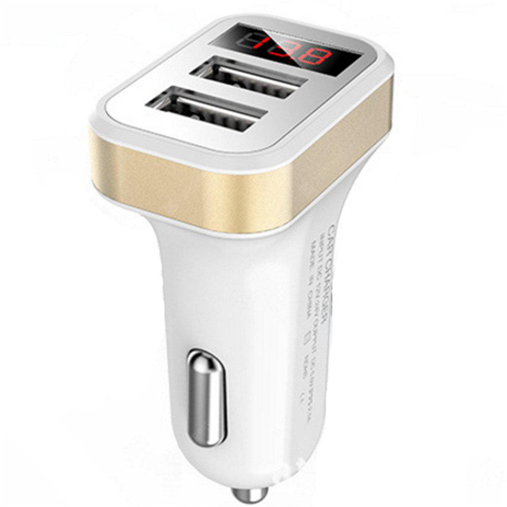 A New Multifunctional Double USB Car Charger