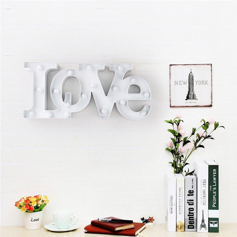 Cute Big Love LED Lamp Children Room Decorated With Small Night Light